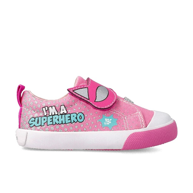 GARVALIN 'Supergirl' Canvas Trainers