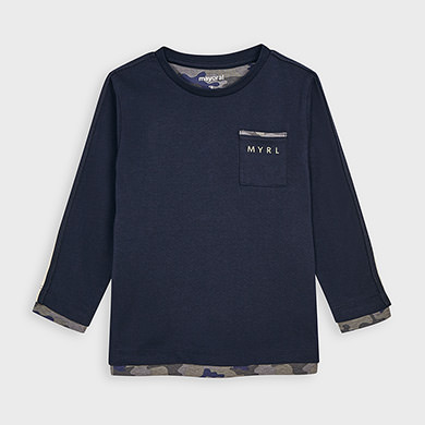 MAYORAL Boys T-shirt Navy 4041-058