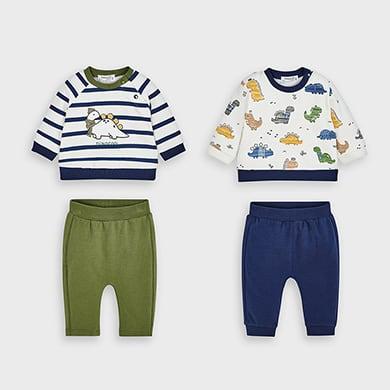 MAYORAL Baby Boys Dinosaur Set 2649-066
