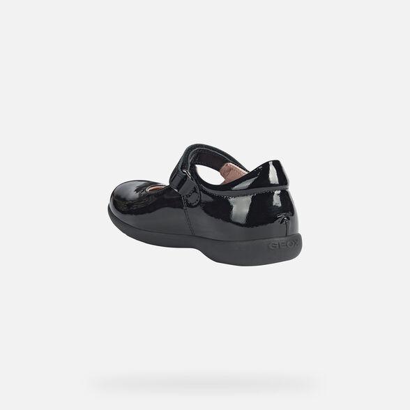School Shoes GEOX Mary Jane J Naimara G.B J16FHB_Patent