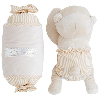 MAYORAL Boys/Girls Anti-roll bear cushion Natural 19798-035 NOW £12.95