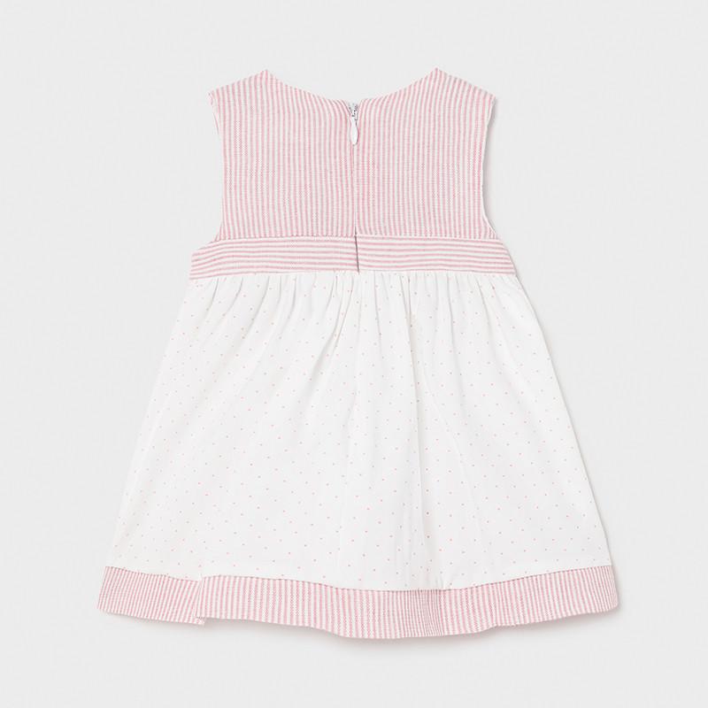 MAYORAL BABY GIRL Bunny Dress 1804-083