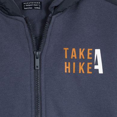 MAYORAL Boys 'Take A Hike' Navy Hoodie 7476-061