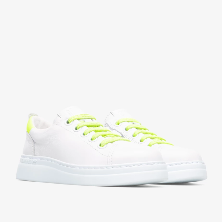 CAMPER Girls Trainers White 'Runner Up' K800339-001 NOW £39.95