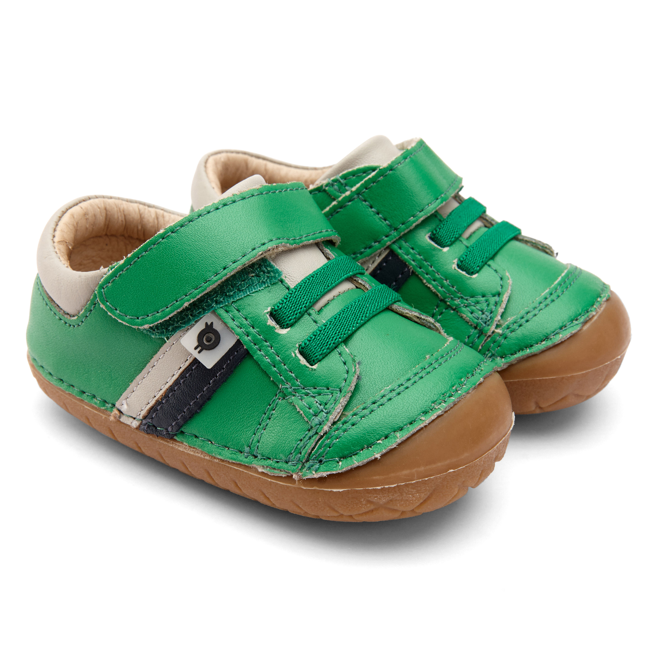 OLD SOLES Shield Pave Green, Grey and Navy Trainers 4067