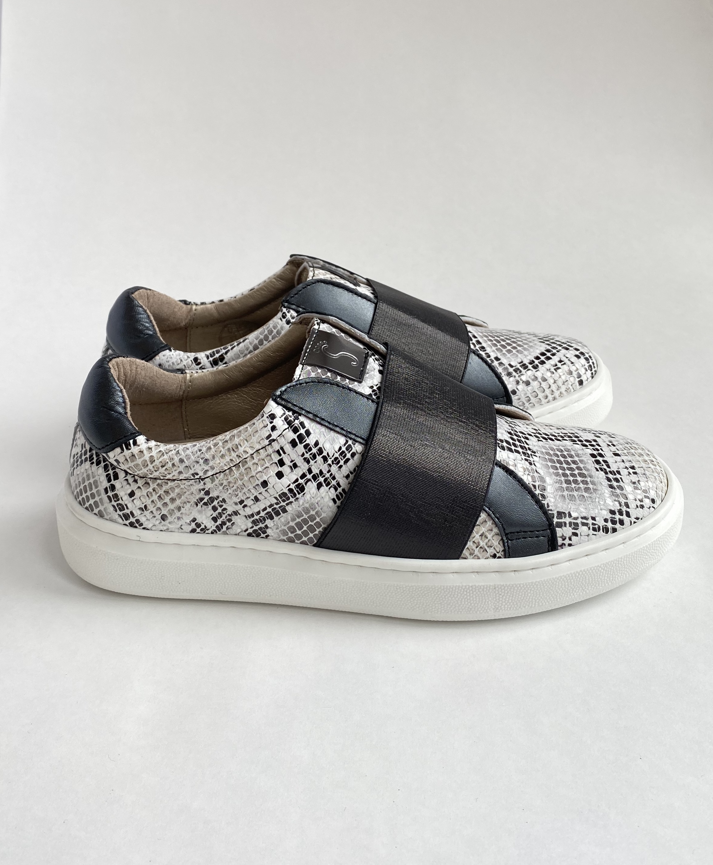 NENS Girls Loafers Sneak Print 8057/CA-RY NOW £39