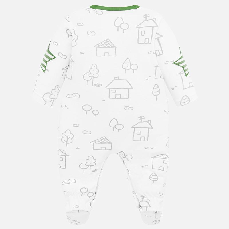 MAYORAL Boys/Girls Set (pyjama, hat, bib and hat) Kiwi 1778-052 NOW £12.95