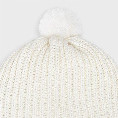 MAYORAL Boys/Girls Hat & Gloves Natural 9315-025  NOW £9.95