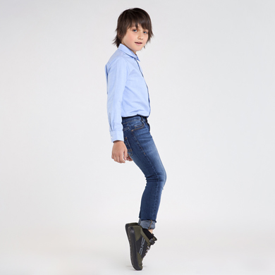MAYORAL Teens Boys Skinny Fit Jeans Dark Blue 7533-033 NOW £12.95