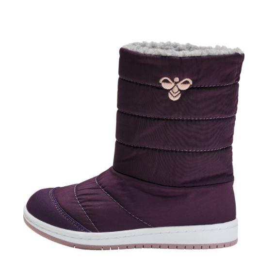 HUMMEL Girls Puffer Boots Waterproof Purple 206860-4049 NOW £29.95