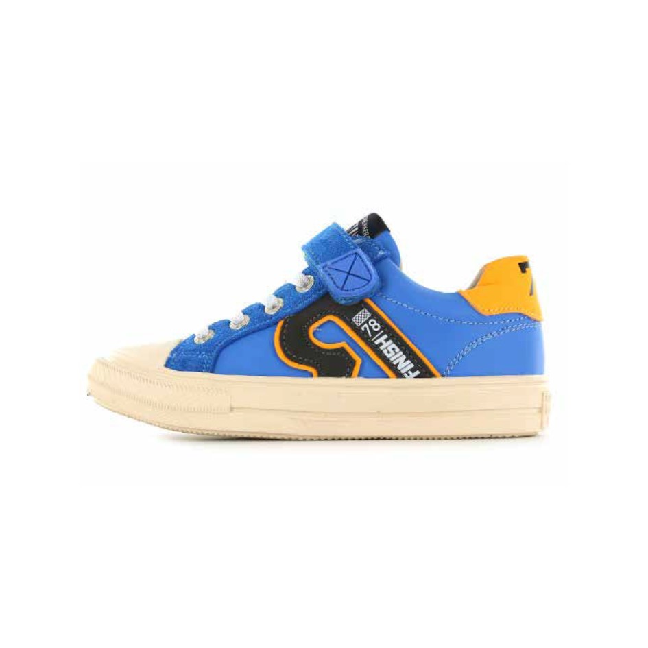 SHOESME BOYS Blue and Orange Trainers ON21S002-A