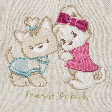 MAYORAL BABY Girl DogJumper Sand 2357-090