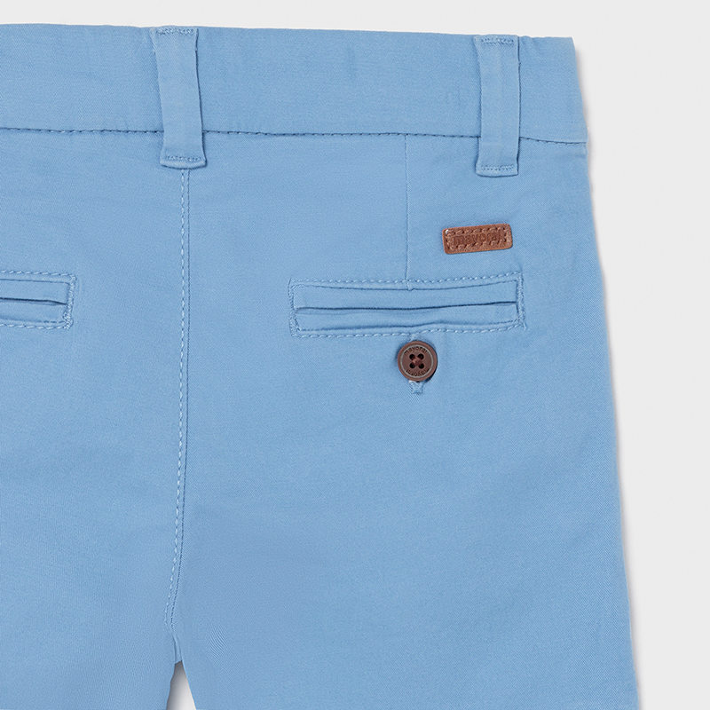 MAYORAL BABY BOY Chino Shorts 'Sky' 207-081
