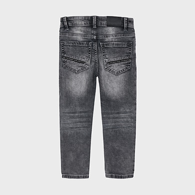 MAYORAL Boys Slim Fit Jeans Grey 4539-082 NOW £12