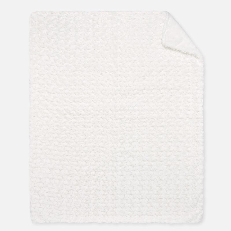 MAYORAL Boys/Girls Blanket 'Rosette Pattern' White 19033-79 NOW £14.95