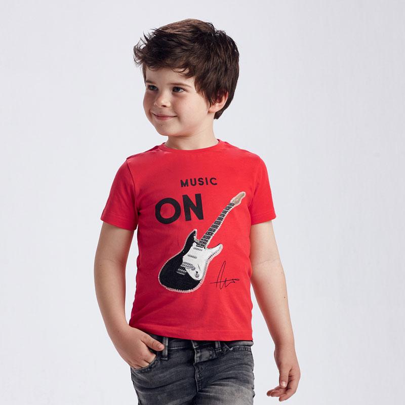 MAYORAL BOYS Sequin T-Shirt 'Guitar' 3048-062