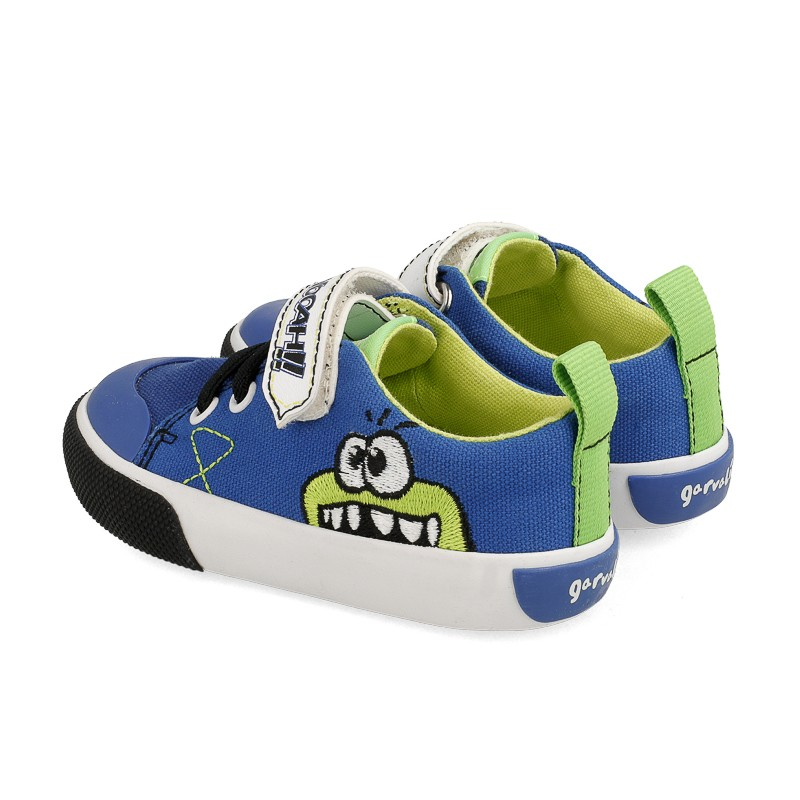 GARVALIN Canvas Monster Electric Blue 202805