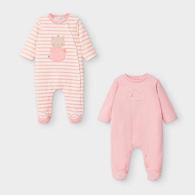 MAYORAL BABY GIRL Blush Pyjamas  2757-96