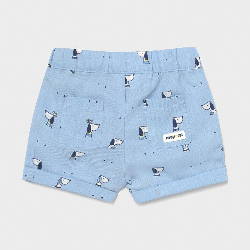 MAYORAL NEWBORN BOY Shorts 'Dogs' 1210-059