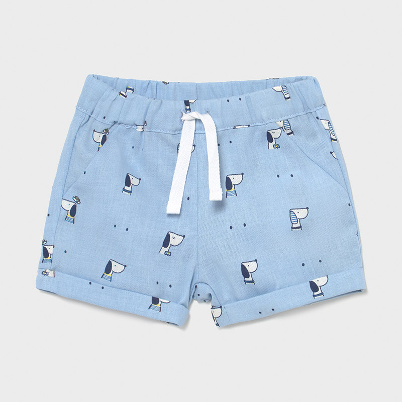 MAYORAL NEWBORN BOY Shorts 'Dogs' 1210-059