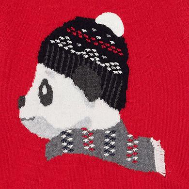 MAYORAL BABY Boy Panda bear jumper 2346-024