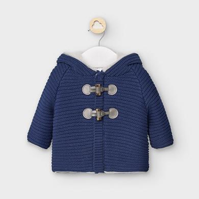 MAYORAL Baby Boy Coat French Blue 2335-038