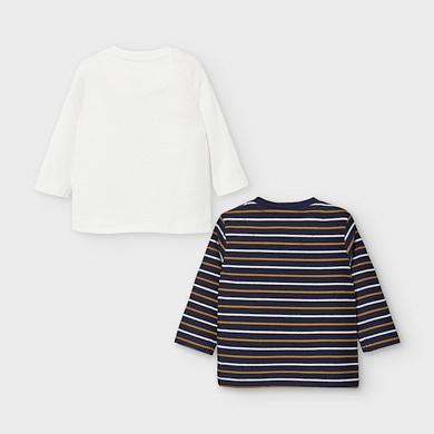 MAYORAL Baby Boys t-shirt set Navy 2048-030