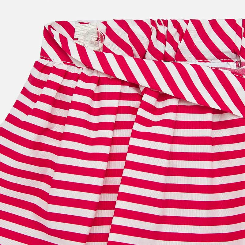 MAYORAL BABY GIRL Set T-Shirt and Striped Skirt Pink 1949