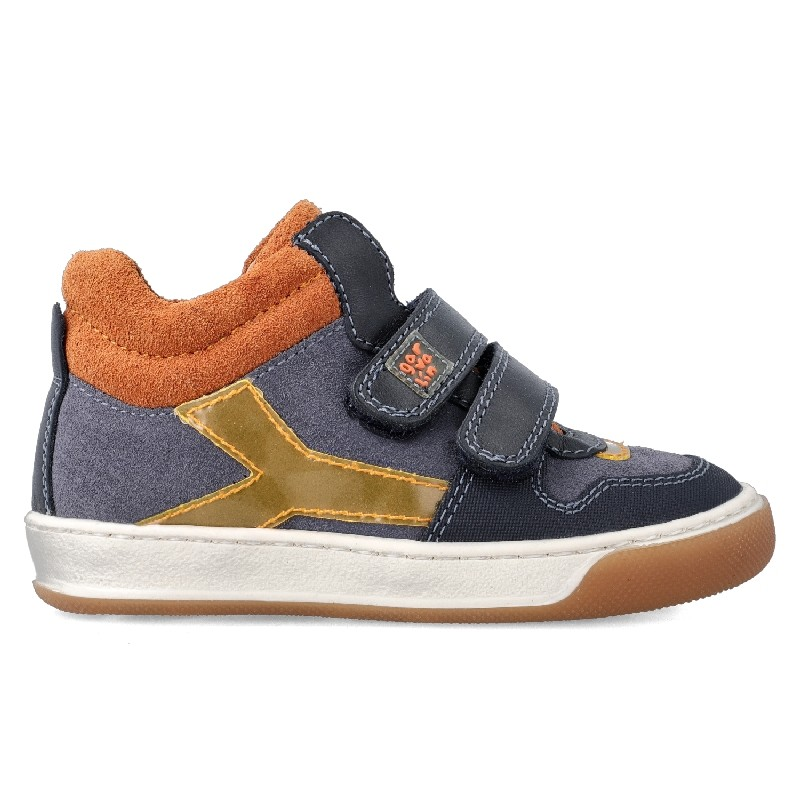GARVALIN Boys Ankle Boots Blue/Orange 201452-C NOW £39.95