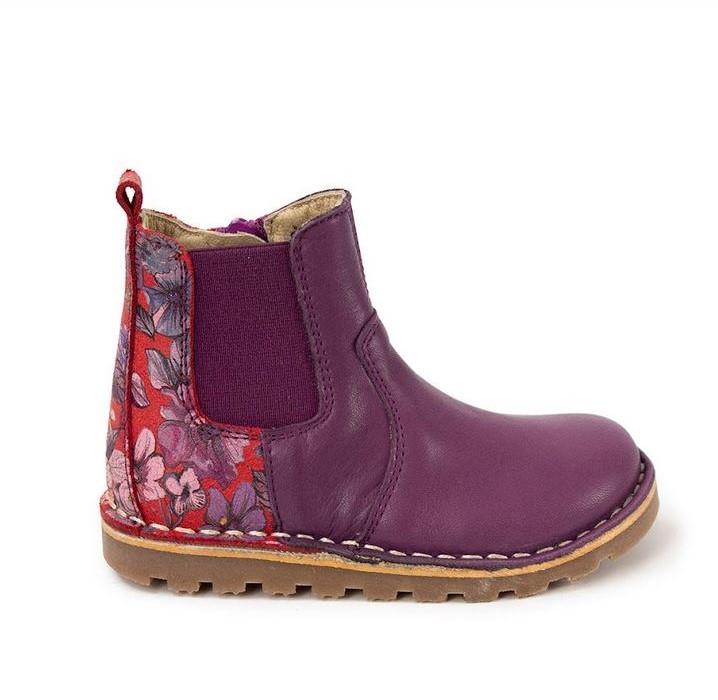 PETASIL 'Kloud' Boots Purple Savana/Flower