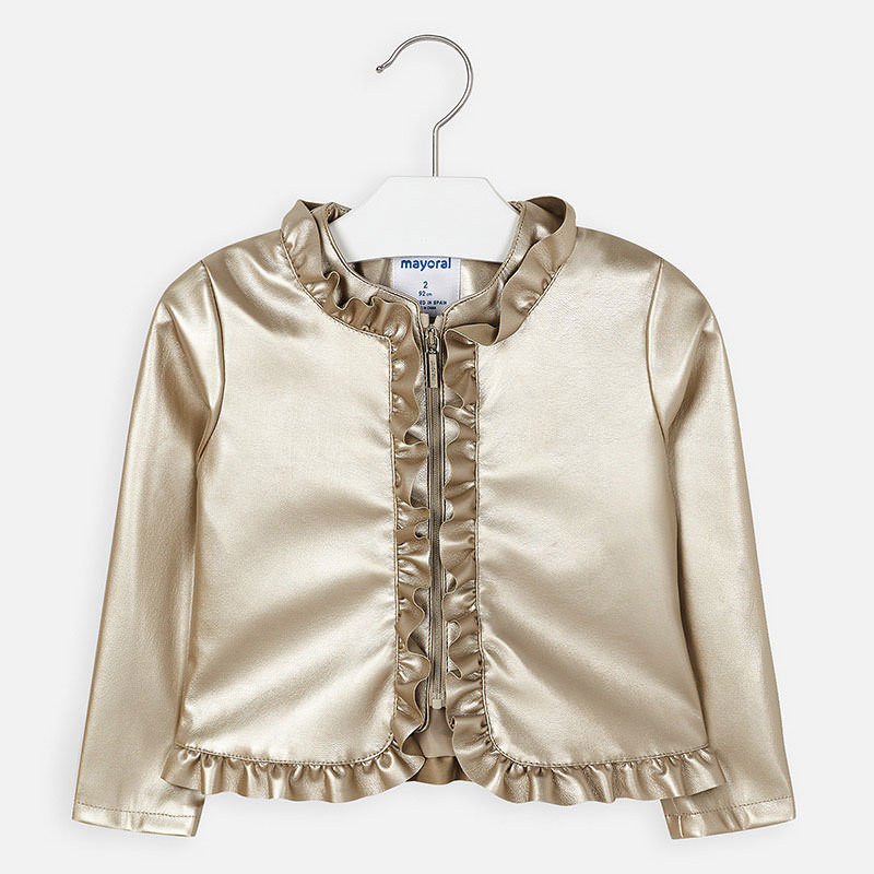 MAYORAl Girls Jacket Gold 3464-019