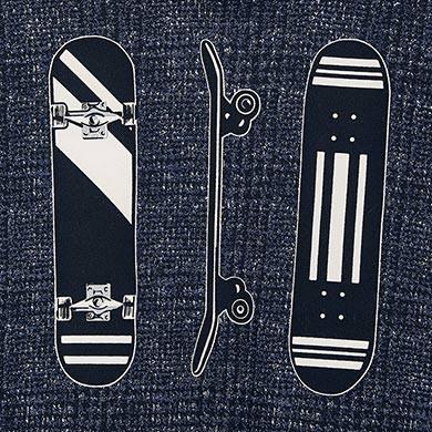 MAYORAL Boys Hoodie 'Skateboard' Navy 4460-29 NOW 12.95
