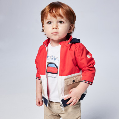 MAYORAL BABY BOY 'Play With' T-Shirt with Interactive Print 1006-091