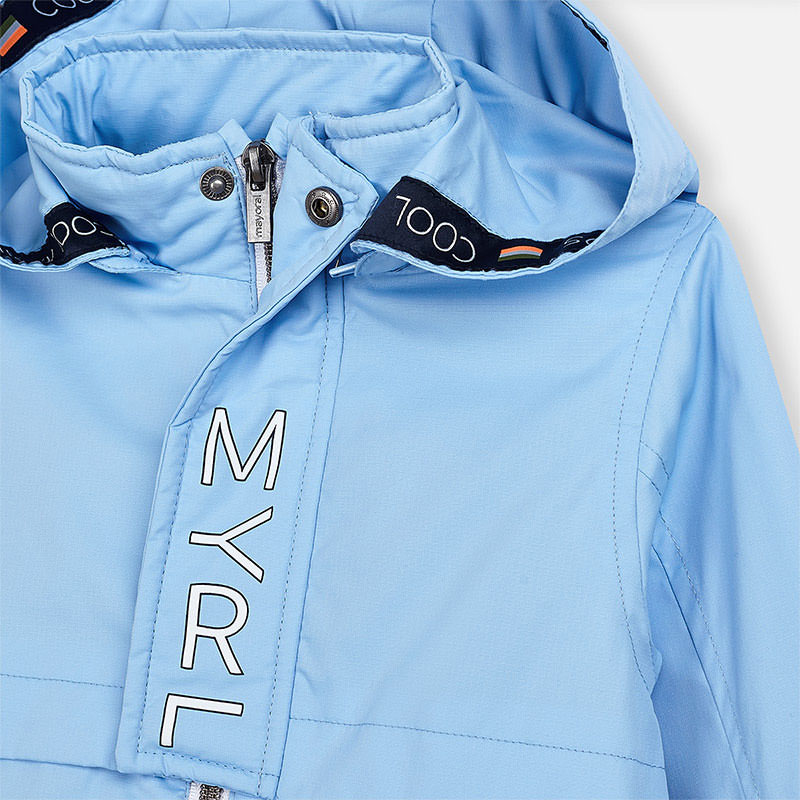 MAYORAL Boys Windbreaker, Sky 3458-30