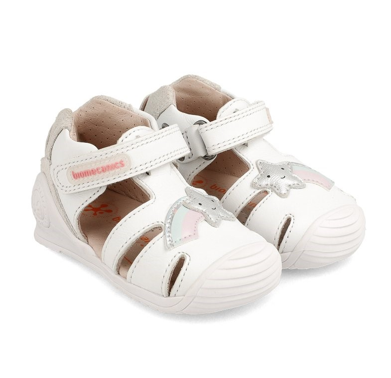 BIOMECANICS Girls Closed Sandals  Star 202127