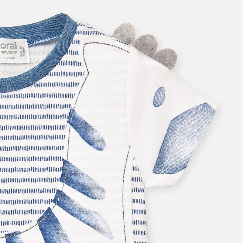 MAYORAL Baby Zebra Blue Pyjamas Short SET 1776
