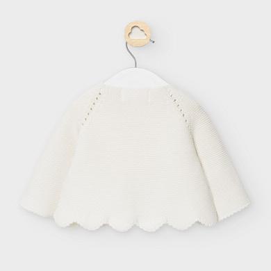 MAYORAL Girls Cardigan Cream 2333-048
