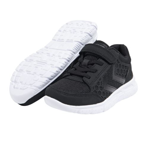 HUMMEL Boys/Girls Trainers Waterproof Crosslite  TEX Black 60519-2042