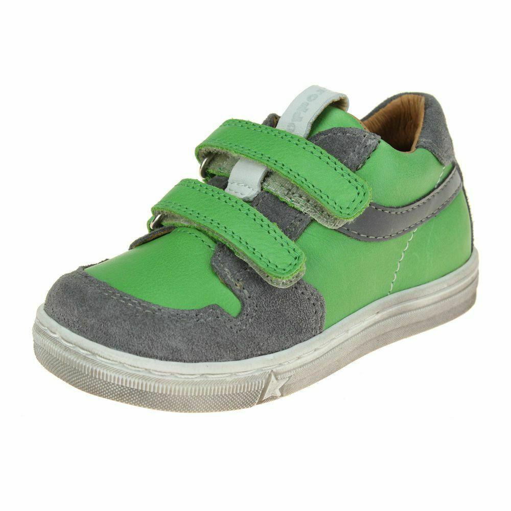 FRODDO Boys Double Velcro Green/Grey G2130198-5