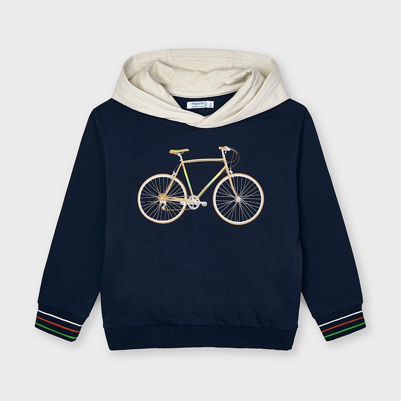 MAYORAL BOYS Sweatshirt with Hoodie 'Bike' 3403-019