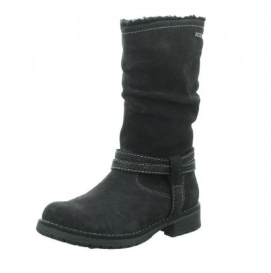 LURCHI Waterproof Suede Charcoal Boots 33-17026-25