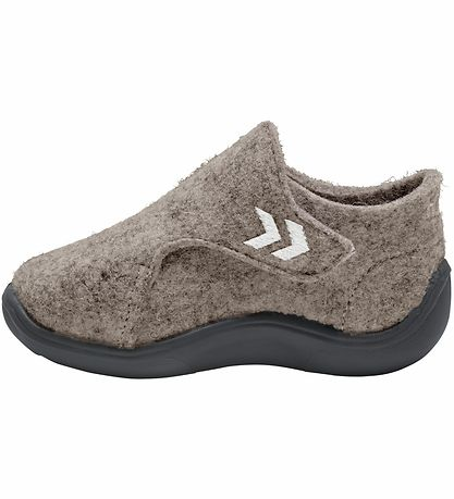 HUMMEL Boys/Girls Wool Slippers Beige 210381-9296