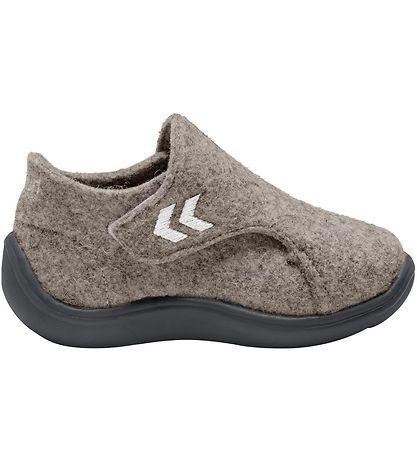 HUMMEL Boys/Girls Wool Slippers Beige 210381-9296