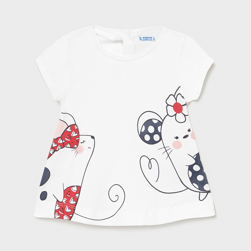 MAYORAL BABY GIRL Set T-Shirt and Leggings 'Mice' 1088-055