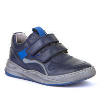 FRODDO Boys Dark Blue Double velcro trainers G3130155