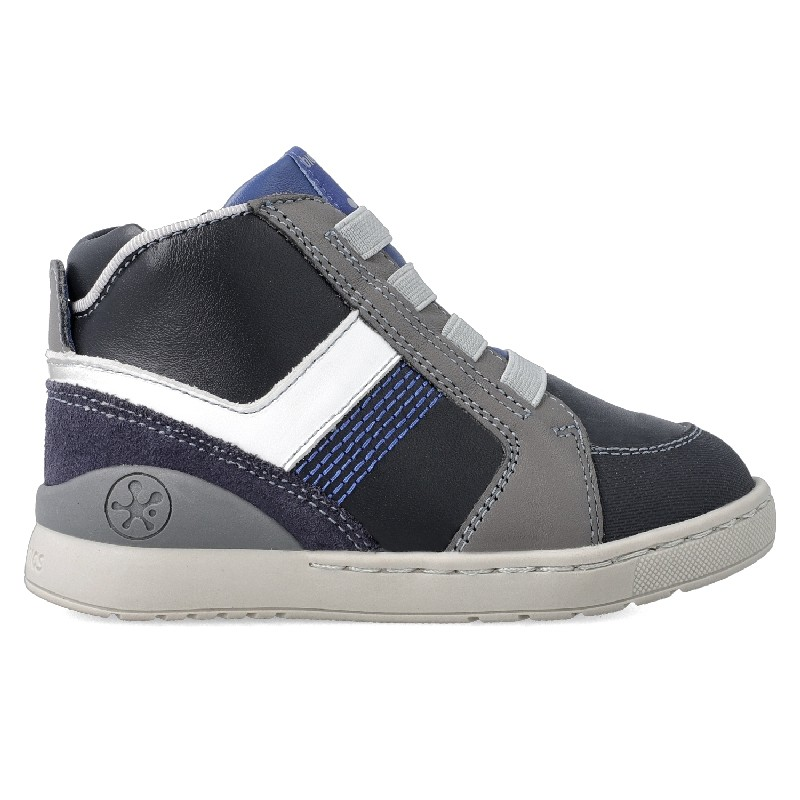 BIOMECANICS Boys/Girls Ankle Trainers Navy/Grey 201213-A NOW 37.95