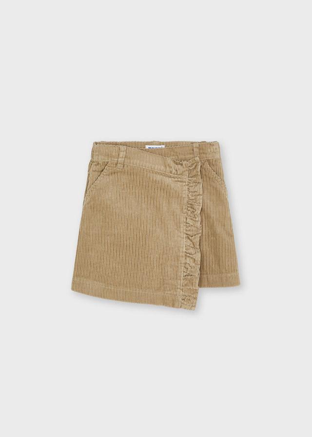 MAYORAL GIRLS Corduroy Camel Skirt 4904-10