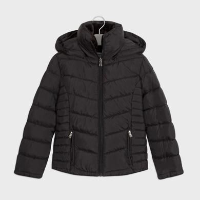 MAYORAL Girls Coat Black 416-049
