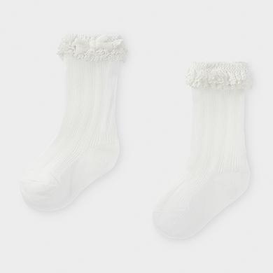 Mayoral Baby Girl socks White 10834-080
