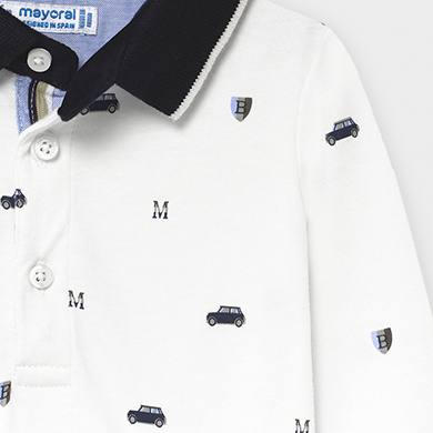 MAYORAL Boys Polo T-shirt 'Cars' 2124-13 NOW £9